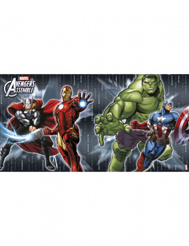 4 Sets de table papier Avengers™