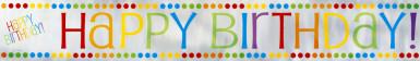 Bannière Anniversaire Rayé