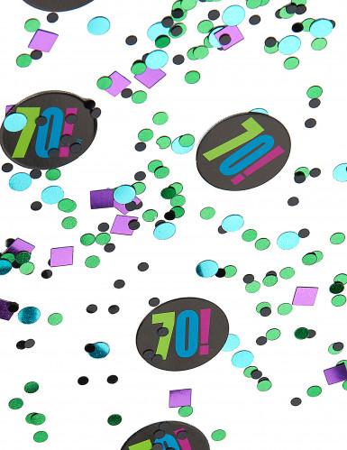 Confettis 70 ans