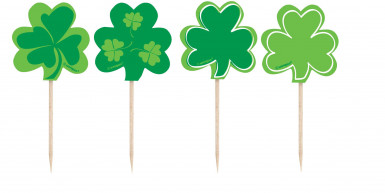 8 Pics trèfles Saint Patrick