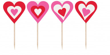 8 pics coeurs Saint-Valentin