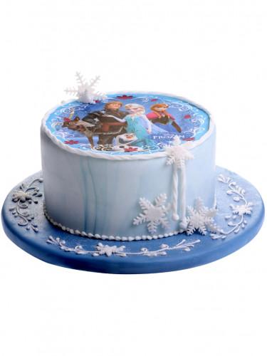Disque azyme 20cm La Reine des neiges - Frozen™-2