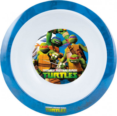 Assiette creuse mélamine Tortues Ninja™