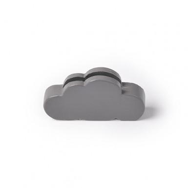 3 Marque-places nuage gris