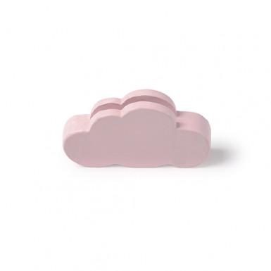3 Marque-places nuage rose 5.5 x 3 cm