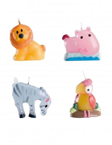 4 Bougies animaux
