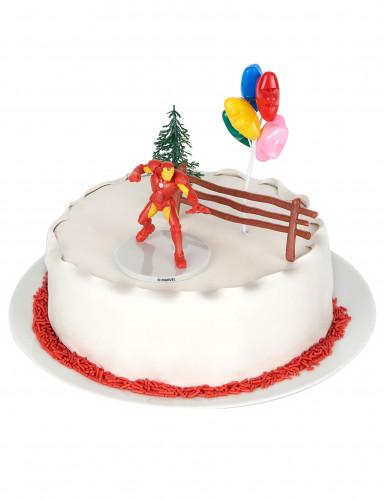Décorations pour gâteau Iron Man™-3