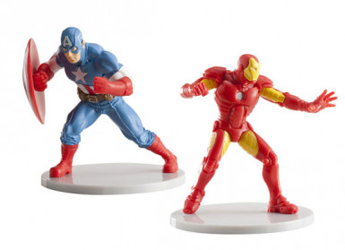 1 Figurine Captain America™ - Iron Man™