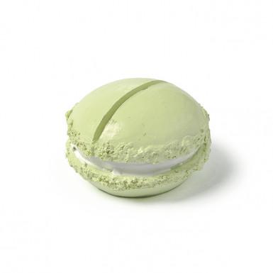 Macaron marque-place résine vert anis