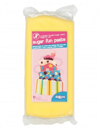 Pâte à sucre sans gluten jaune 250 g