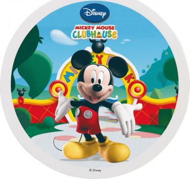 Disque en sucre Mickey™ 16 cm