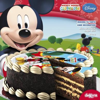 Disque en sucre Mickey™ 16 cm-1