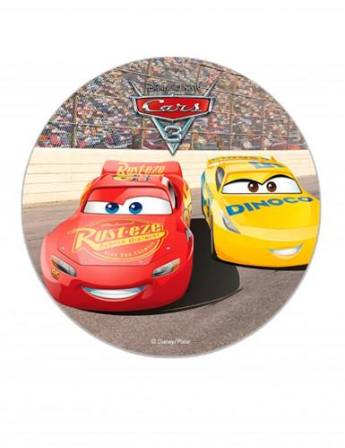Disque en sucre Cars™ 16 cm