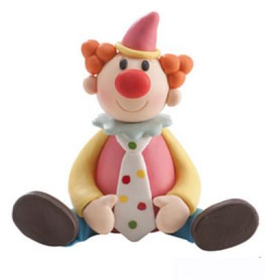 Décoration gâteaux clown aléatoire-2