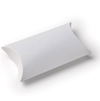 10 boîtes cartons blanches nacrées