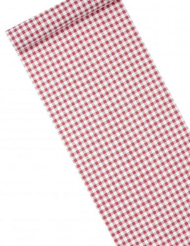 Chemin de table coton vichy retro