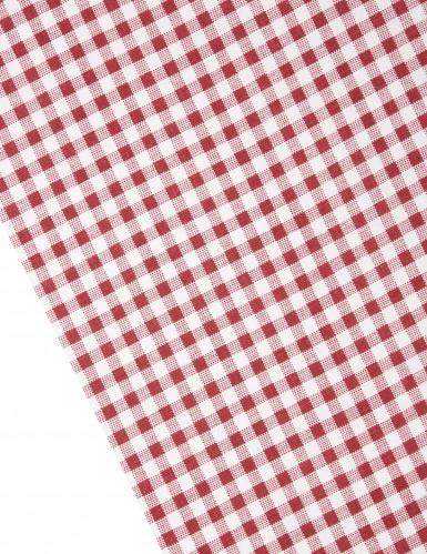 Chemin de table coton vichy retro-1