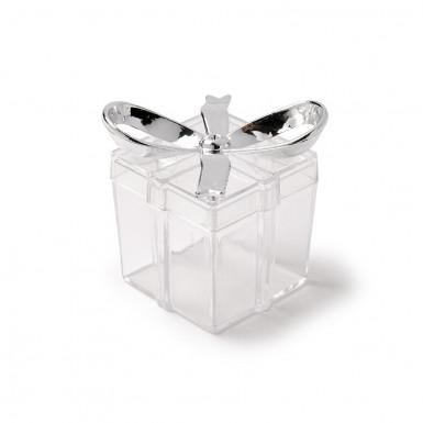 3 Petites boîtes cadeaux transparentes