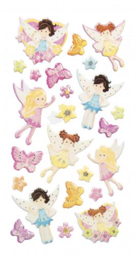 Stickers petites f es d coration anniversaire et f tes th me sur vegaoo party - Stickers petite fille ...