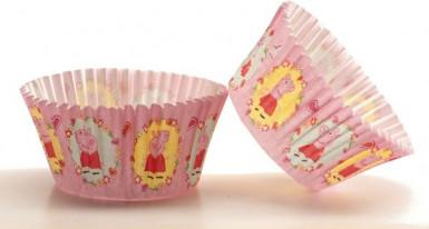 50 Moules à cupcake Peppa Pig™-1