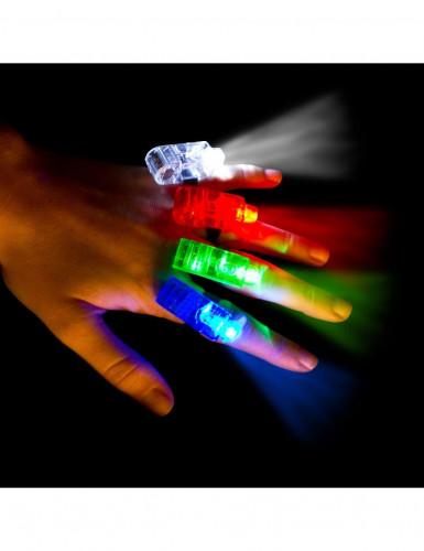 4 Spots à led pour doigts