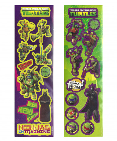 Set autocollants Tortues Ninja ™