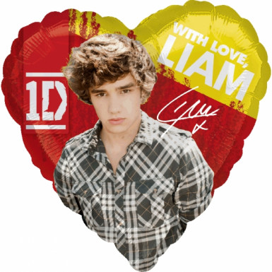 Ballon aluminum Liam One Direction ™ 43 cm