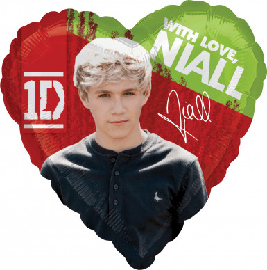 Ballon aluminium Niall One Direction ™ 43 cm