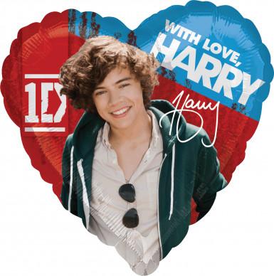 Ballon aluminum Harry One Direction ™ 43 cm