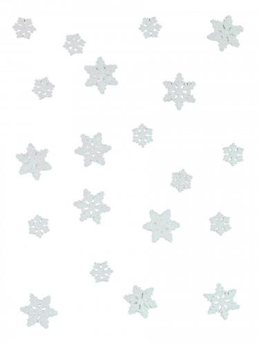 20 Confettis de table flocons de neige La Reine des neiges™-1