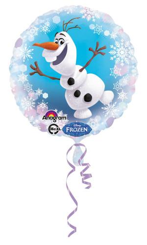 Ballon en aluminium Olaf La Reine des Neiges™
