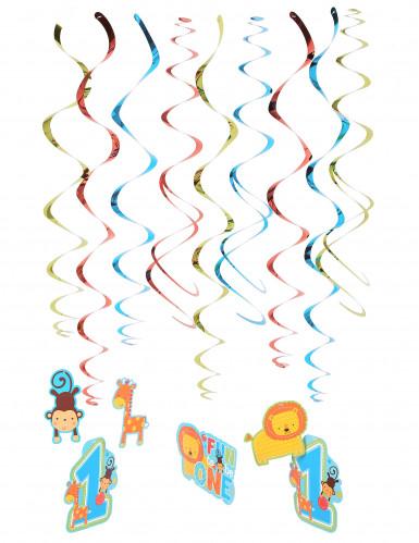 12 Suspensions spirales 1 an garçon