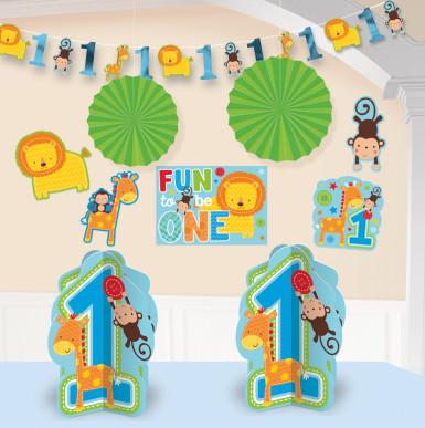 Kit de décoration 1 an garçon