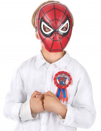 Ruban d'anniversaire Spiderman™-1