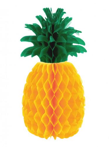 Décoration ananas en papier 21 cm