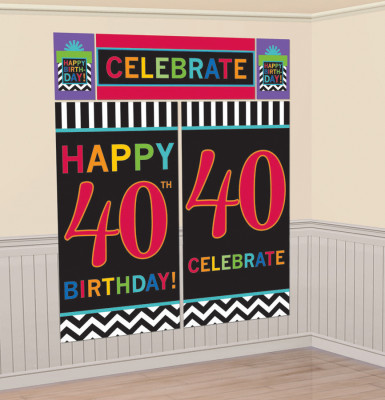 Arrière plan 40 ans Celebrate your birthday