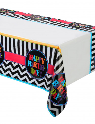 Nappe plastique Celebrate your birthday