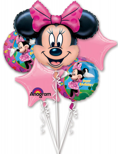 5 Ballons aluminium Minnie™