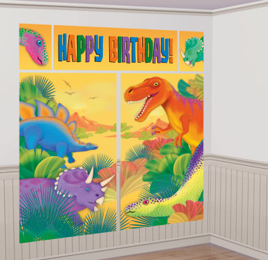 Arrière plan Dino Party
