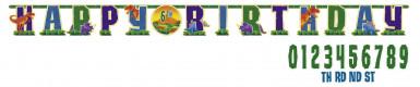 Guirlande Happy Birthday Dino Party 3.2 m