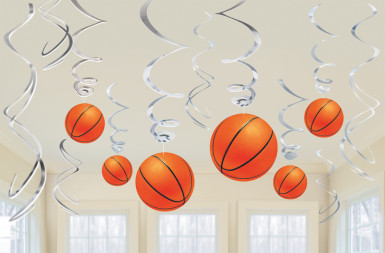 Suspensions ballons de basket