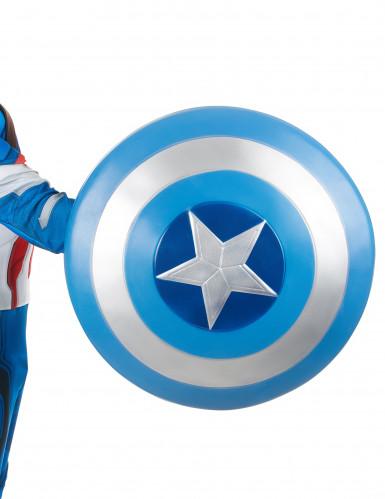Bouclier adulte Captain America™ 61 cm-1