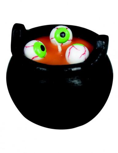 Bougie Bouillon d'œil Halloween 8 cm
