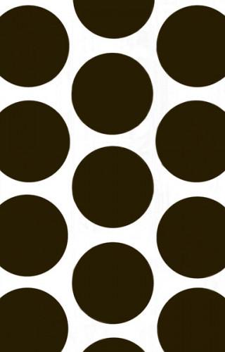 10 Sacs à bonbons en papier noir & blanc