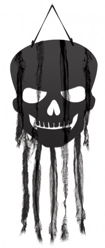 4 Décorations tête de mort