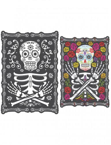 Décoration lenticulaire Dia de los muertos