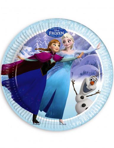 Maxi Pack anniversaire La Reine des Neiges™ bleue-1