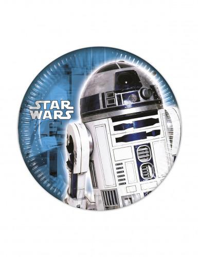 8 Assiettes Star Wars ™ 20 cm