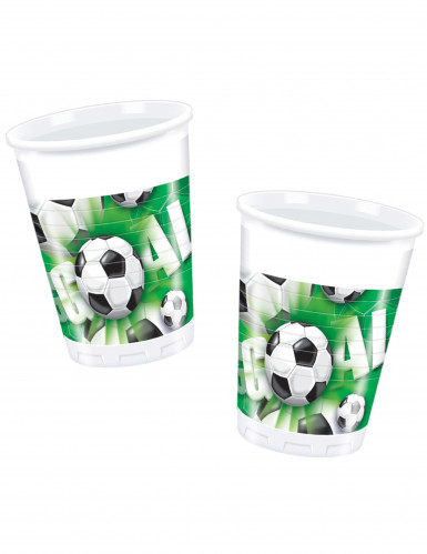 10 Gobelets en plastique Goal Football