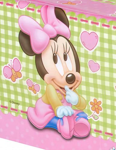 Nappe plastique Bébé Minnie ™ 120x180 cm -1